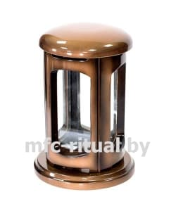 Лампада из полимергранита №2 бронза