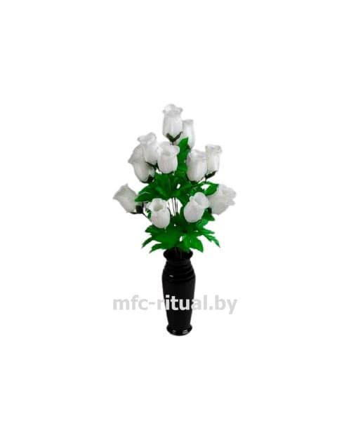 Букет роза бутон атлас С58/38