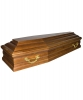 Гроб лакированный 6 граней Элит