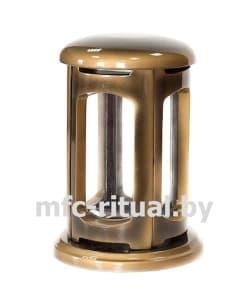 Лампада из полимергранита №2 золото