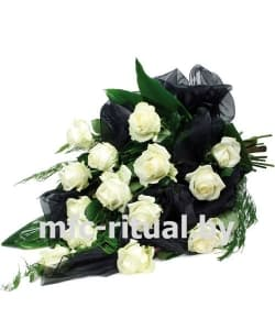 Букет «Белая роза»