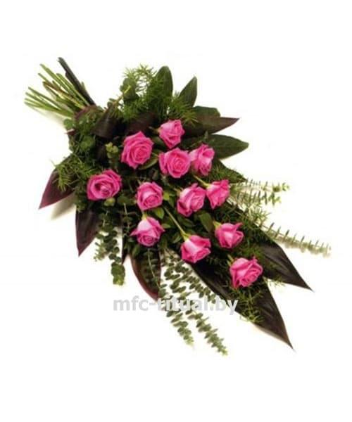 Букет «Розовая роза»