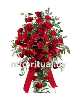 Венок из живых цветов «Величие»