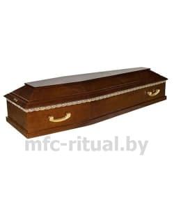 Гроб лакированный 6 граней  Эк-6