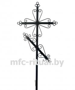 Крест металлический православный тип 5А