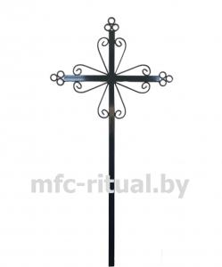 Крест металлический католический тип 2А