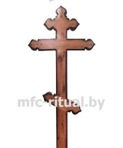 Крест из дуба православный Купол