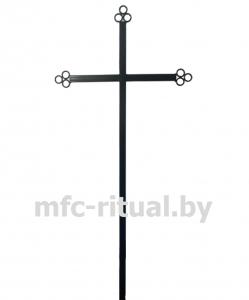 Крест металлический католический тип 1А