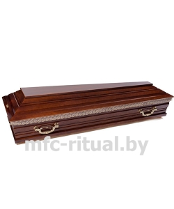 Гроб лакированный №1