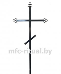 Крест металлический православный тип 3А-ТР