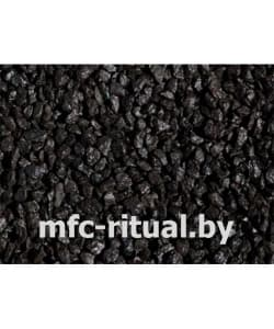 Щебень крашенный декоративный чёрный (20 кг)