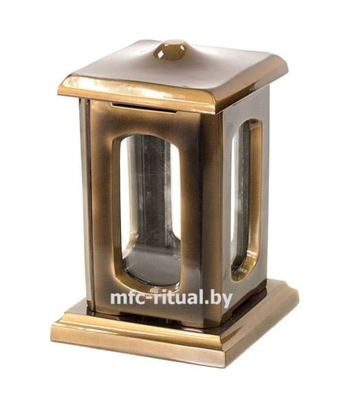 Лампада из полимергранита №1 золото